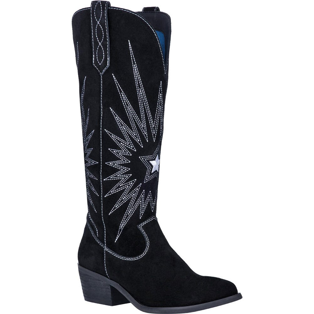 Image for Dingo 1969 Women's Star is Born Western Boots - Black from bootbay