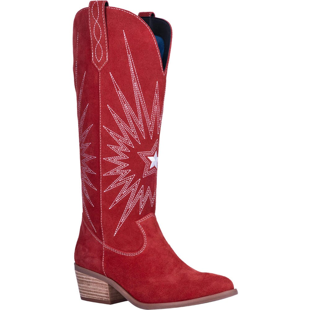 Image for Dingo 1969 Women's Star is Born Western Boots - Red from elliottsboots
