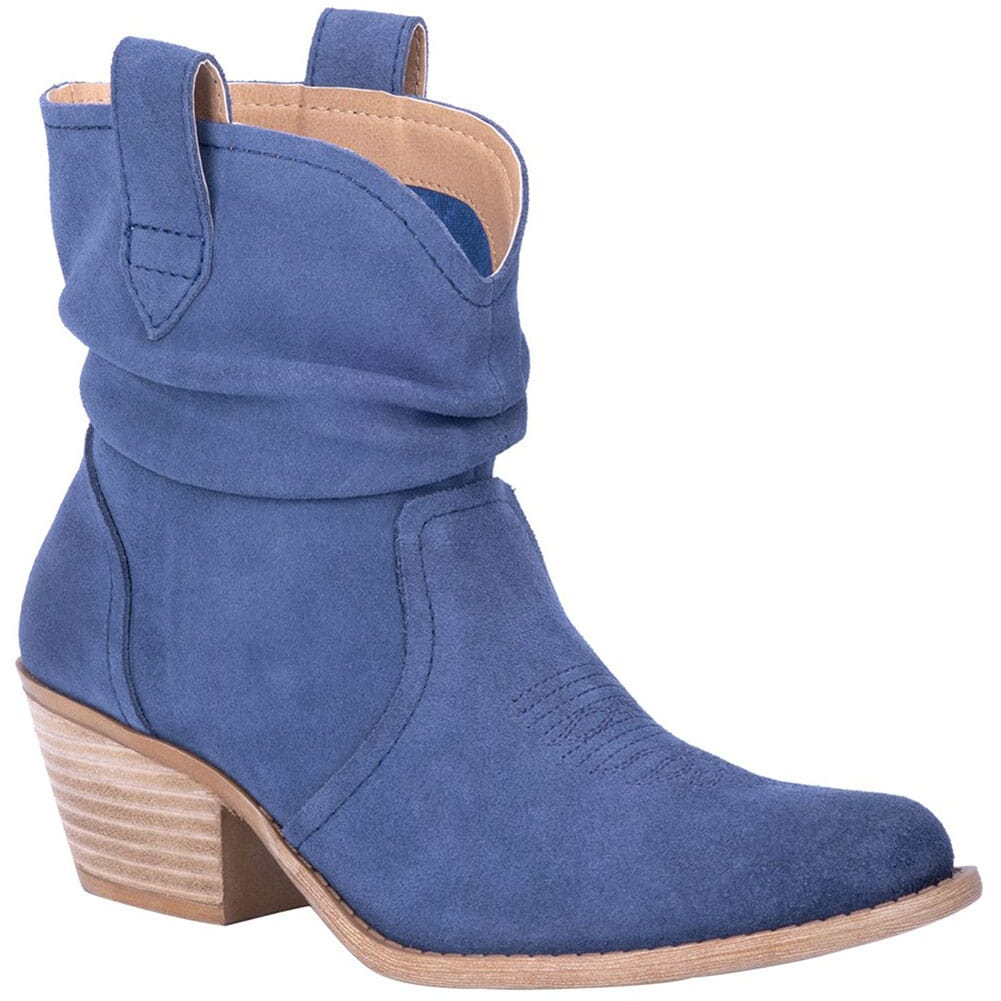 Image for Dingo Women's Jackpot Casual Boots - Blue from bootbay