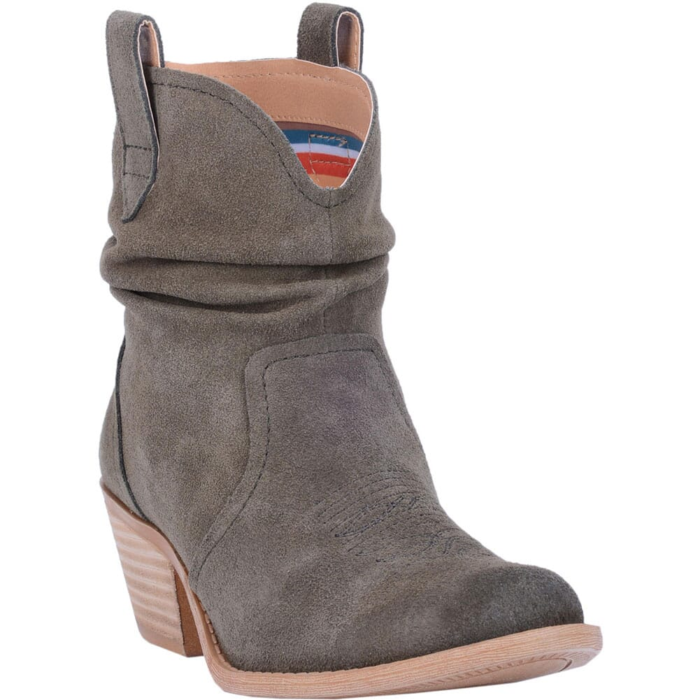 Image for Dingo Women's Jackpot Casual Boots - Olive from bootbay