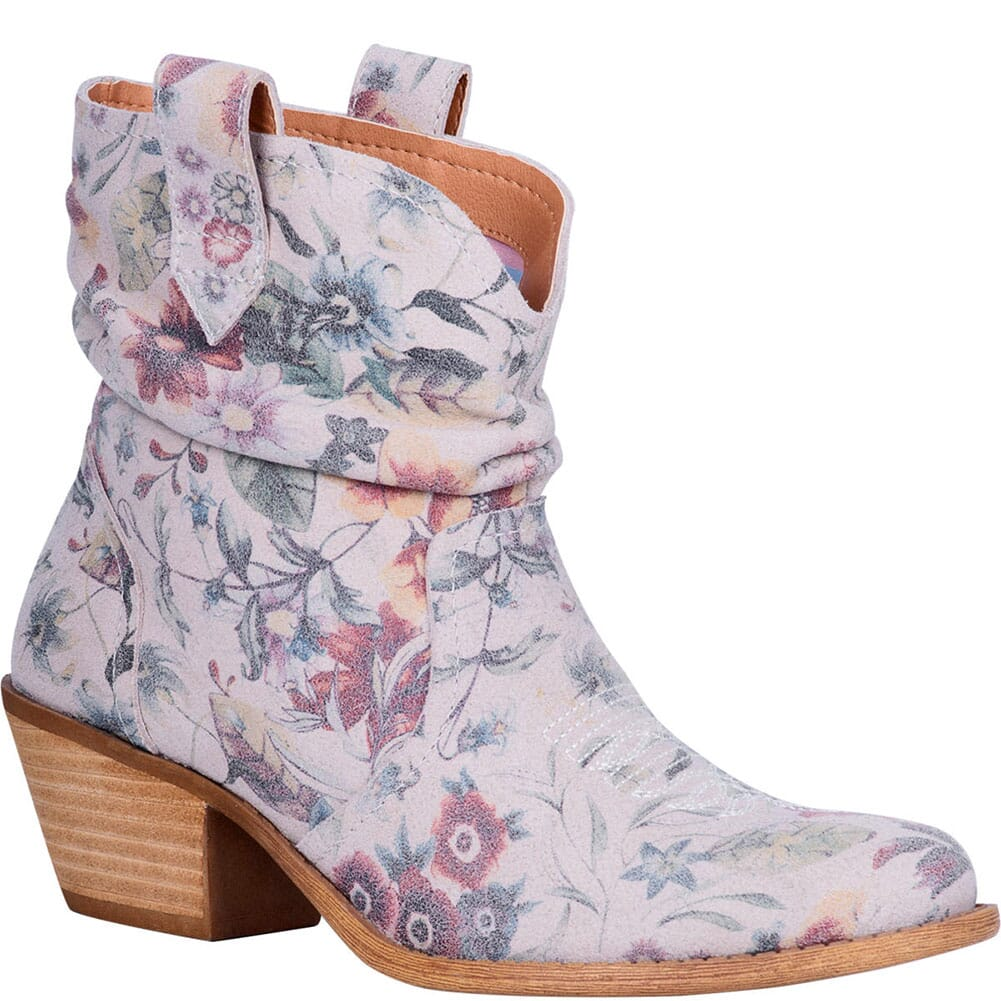 Image for Dingo Women's Jackpot Western Boots - Off White Floral from bootbay