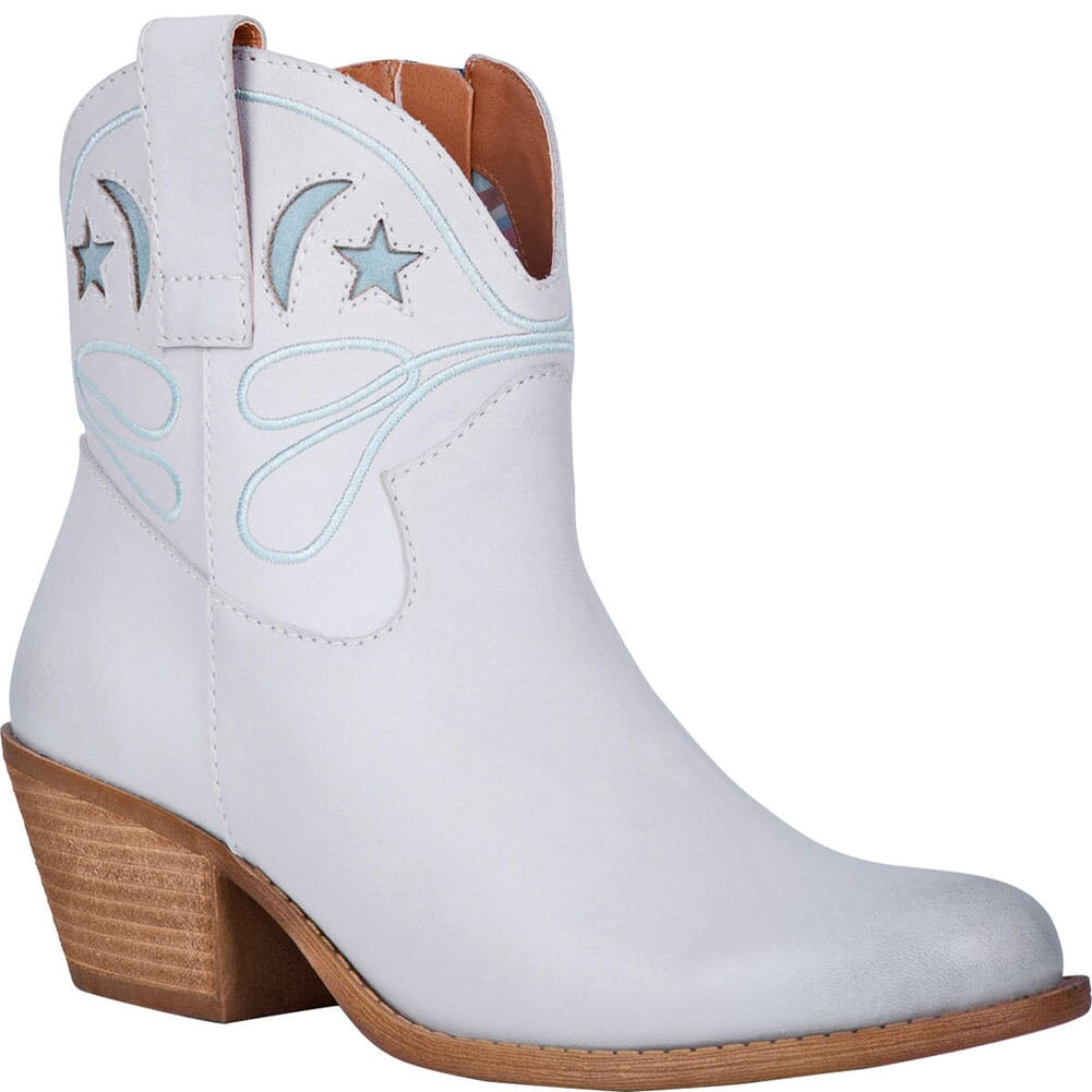Image for Dingo Women's Urban Cowgirl Western Boots - Off White from bootbay
