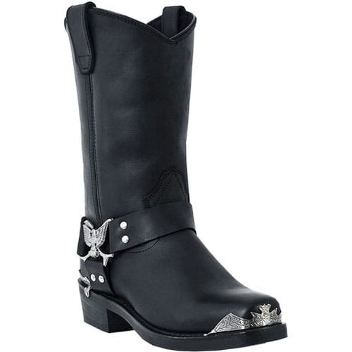 Image for Dingo Men's Chopper Motorcycle Boots - Black from bootbay
