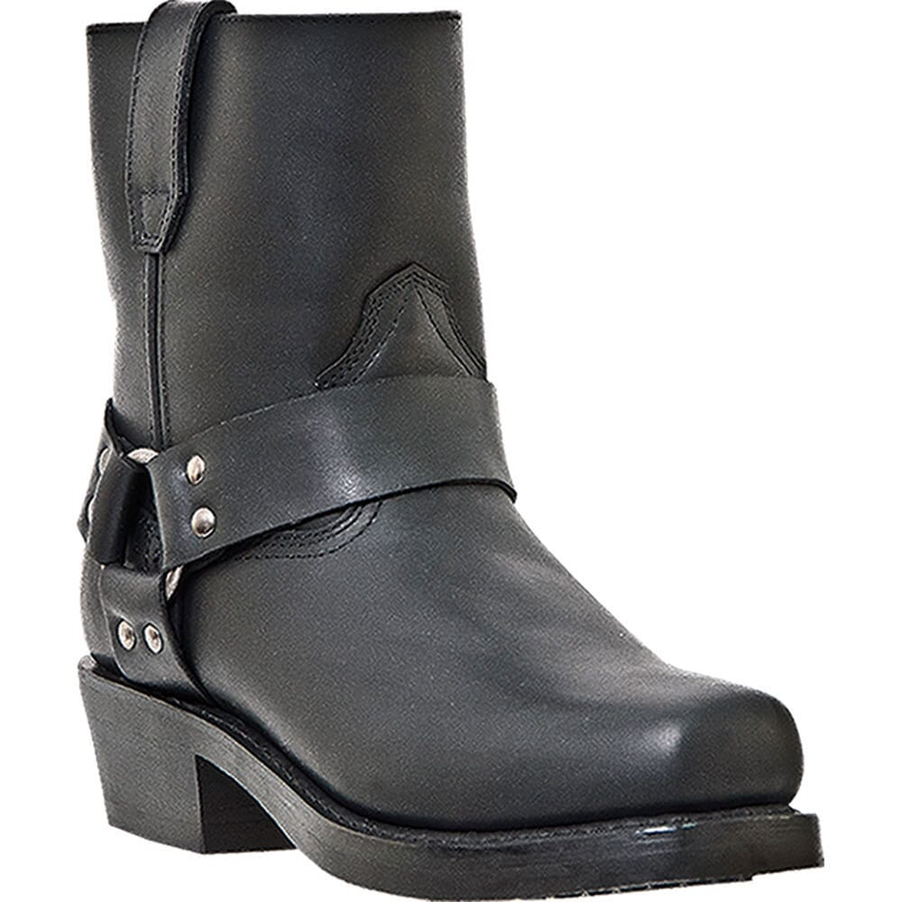 Image for Dingo Men's Rev-Up Motorcycle Boots - Black from bootbay