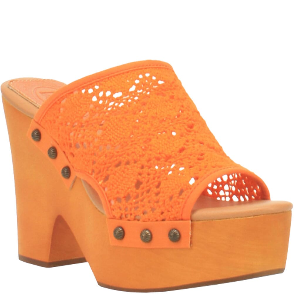 Image for Dingo Women's Crafty Woven Sandals - Orange from bootbay
