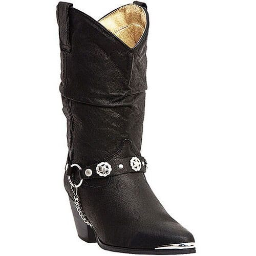 Image for Dingo Women's Bailey Western Boots - Black from elliottsboots