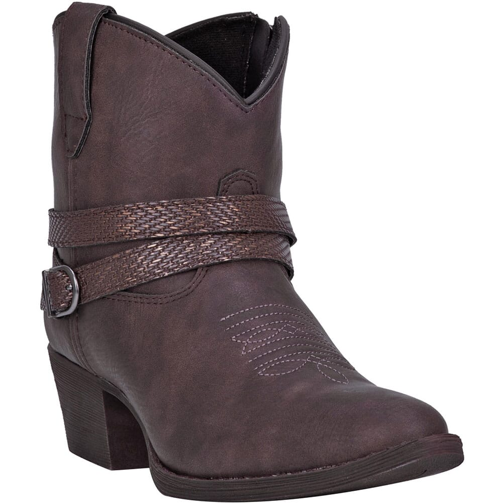 Image for Dingo Women's Aydra Western Boots - Chocolate from elliottsboots