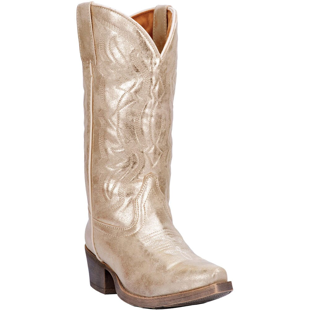 Image for Dingo Women's Kyla Western Boots - Gold from bootbay