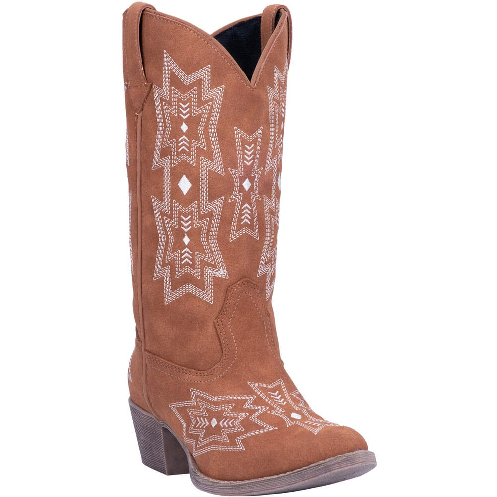 Image for Dingo Women's Rosalin Western Boots - Tan from elliottsboots