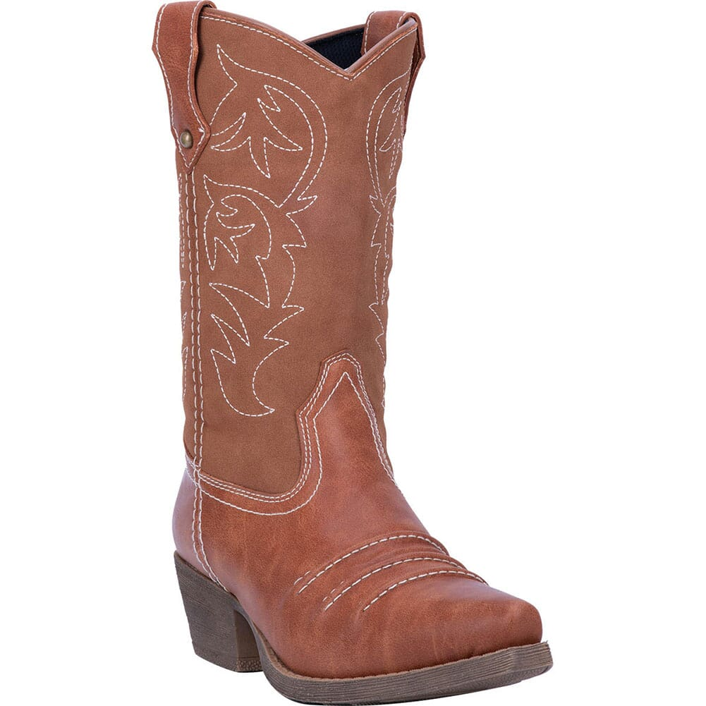 Image for Dingo Women's Prairie Rose Western Boots - Rust from elliottsboots