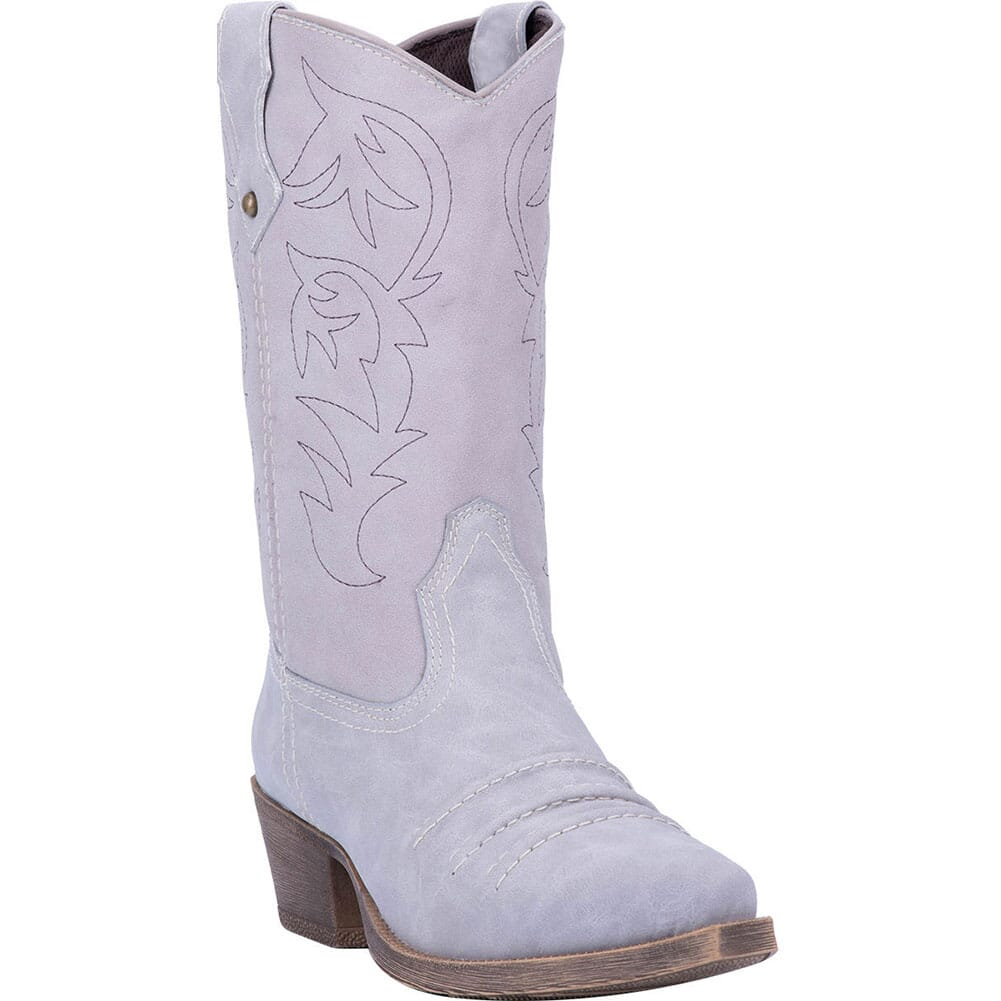 Image for Dingo Women's Prairie Rose Western Boots - Grey from bootbay
