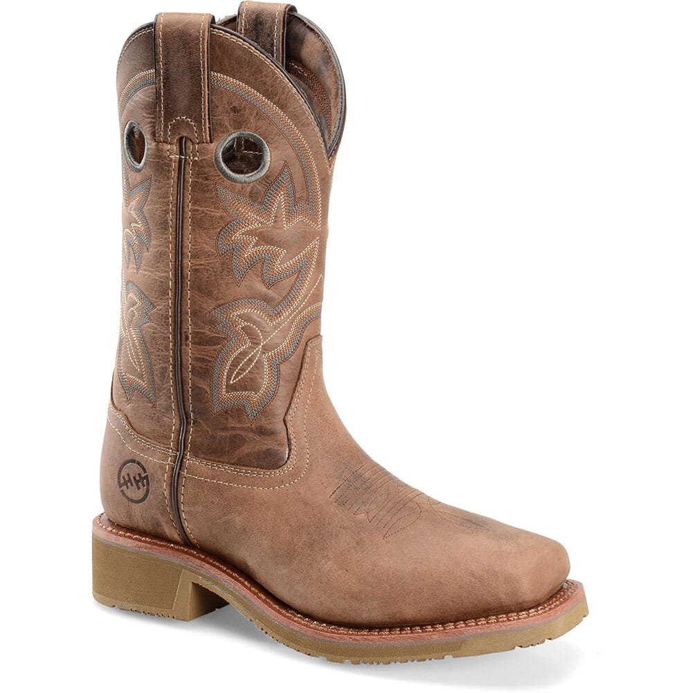 Image for Double H Women's Haddie Safety Ropers - Brown from elliottsboots