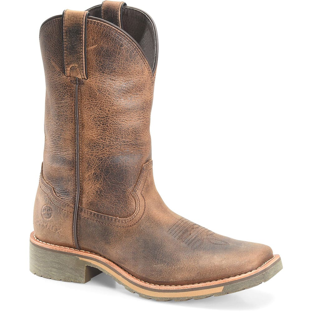 Image for Double H Women's Trinity Work Ropers - Brown from bootbay