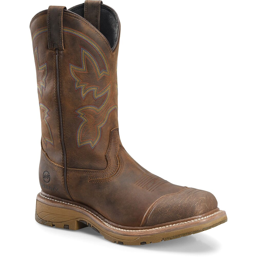 Image for Double H Men's WorkFlex Western Ropers - Cream Buster from bootbay