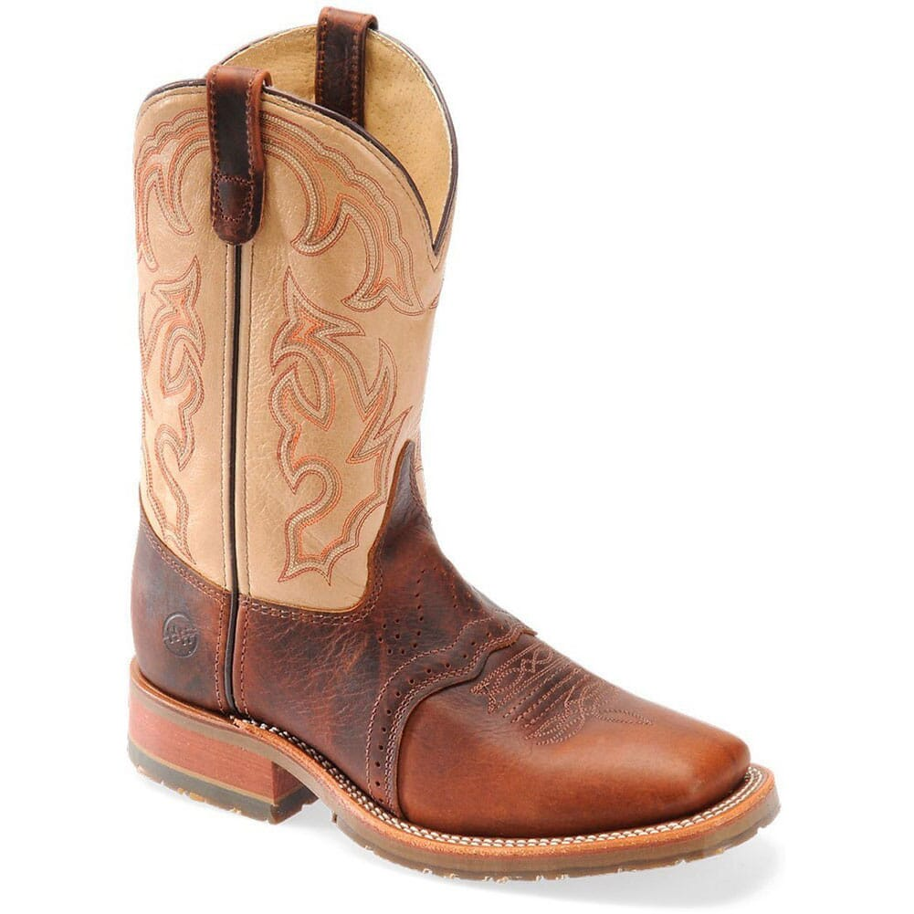 Image for Double H Men's Bison ICE Western Ropers - Briar from bootbay