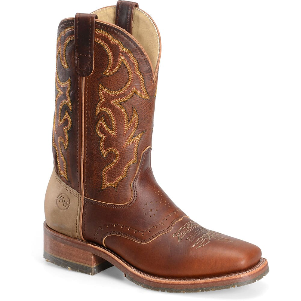 Image for Double H Men's Domestic Western Ropers - Rust from bootbay