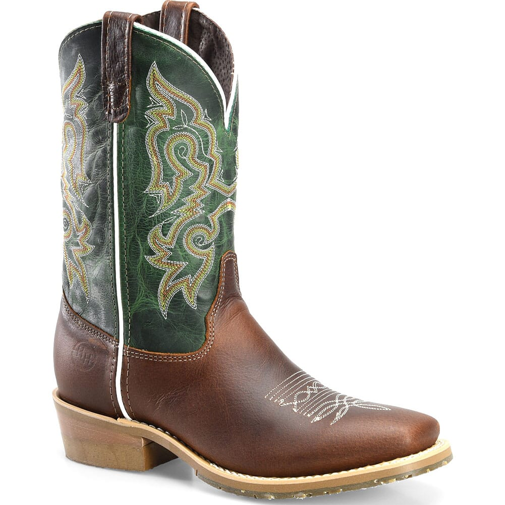 Image for Double H Men's Domestic Western Boots - Turquoise from bootbay