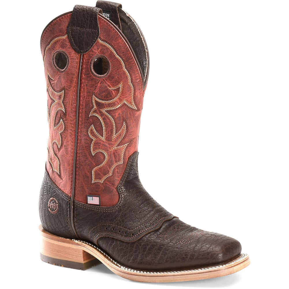Image for Double H Men's Andre Western Ropers - Red Snapper from bootbay