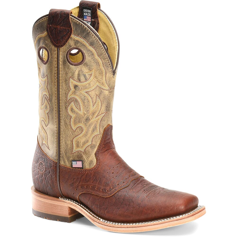 Image for Double H Men's Alec Western Boots - White Onyx from bootbay