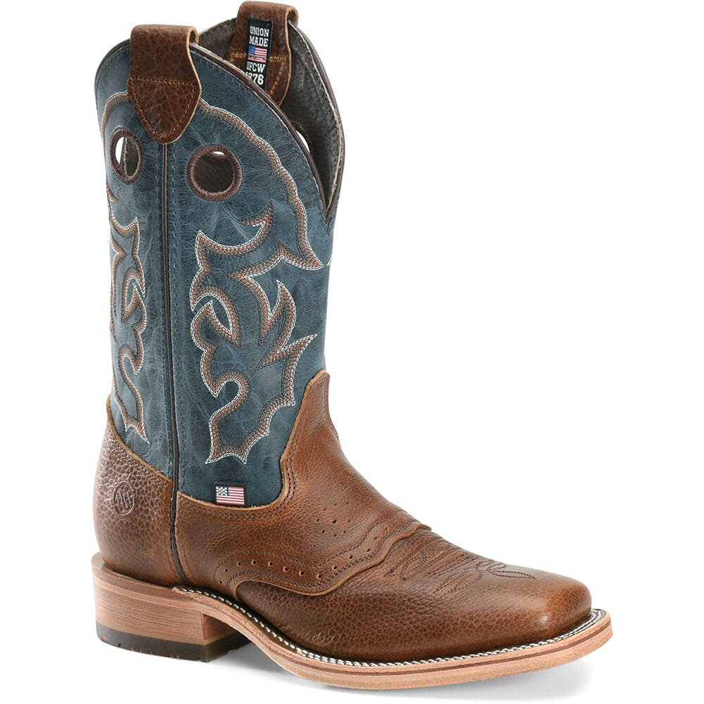 Image for Double H Men's Adrian Western Boots - Cobalt from bootbay