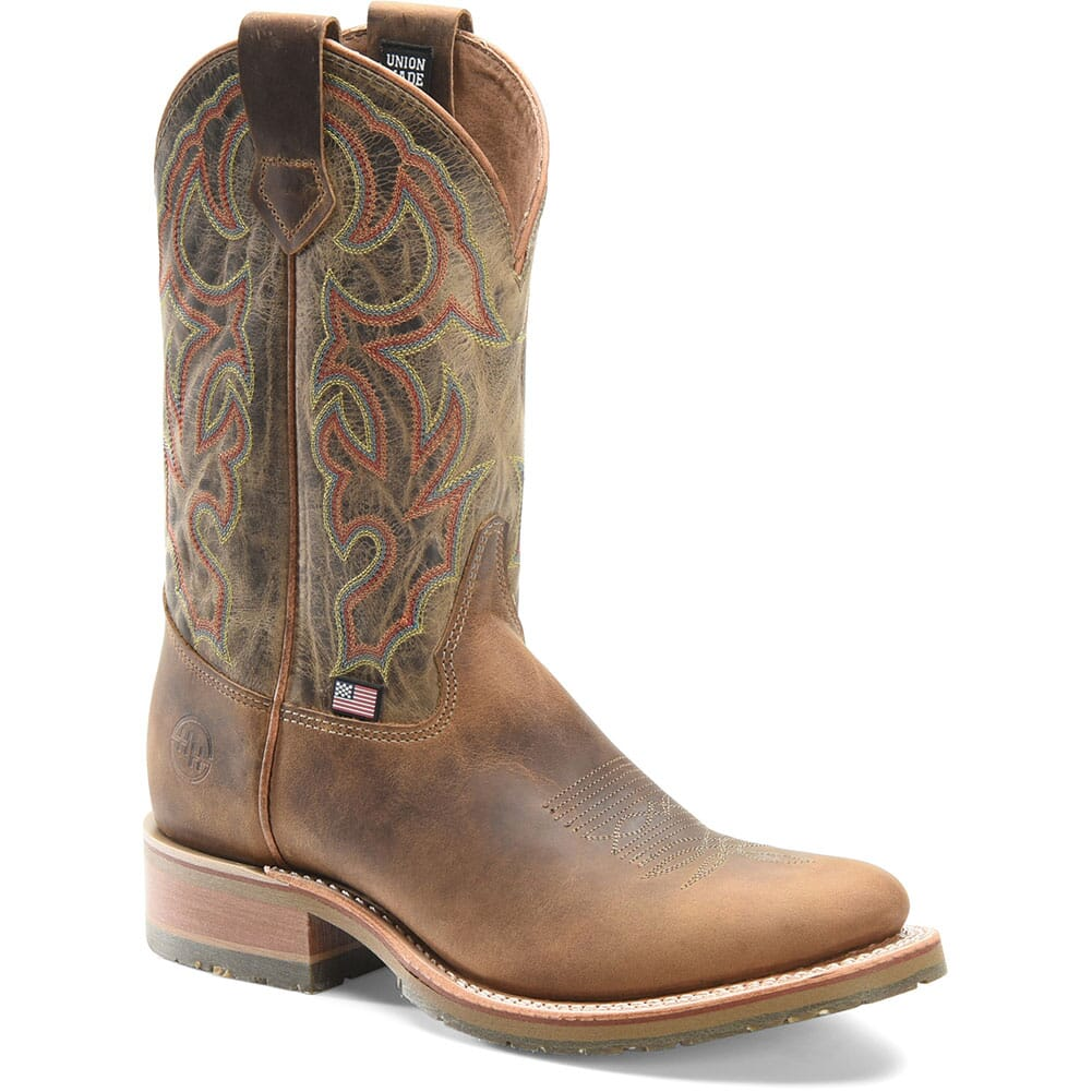 Image for Double H Men's Jaison Western Ropers - Brown from bootbay