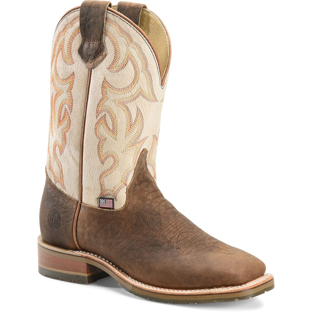 Image for Double H Men's Dallas Western Ropers - Brown from bootbay