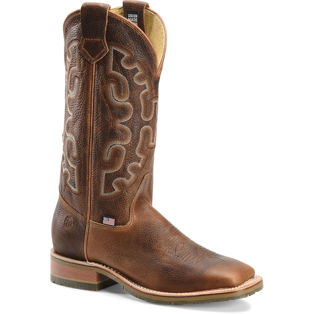 Image for Double H Men's Galveston Western Ropers - Brown from bootbay