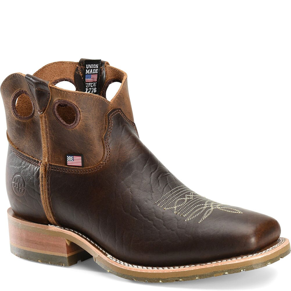 Image for Double H Men's Simon Western Boots - Peanut Bison from bootbay