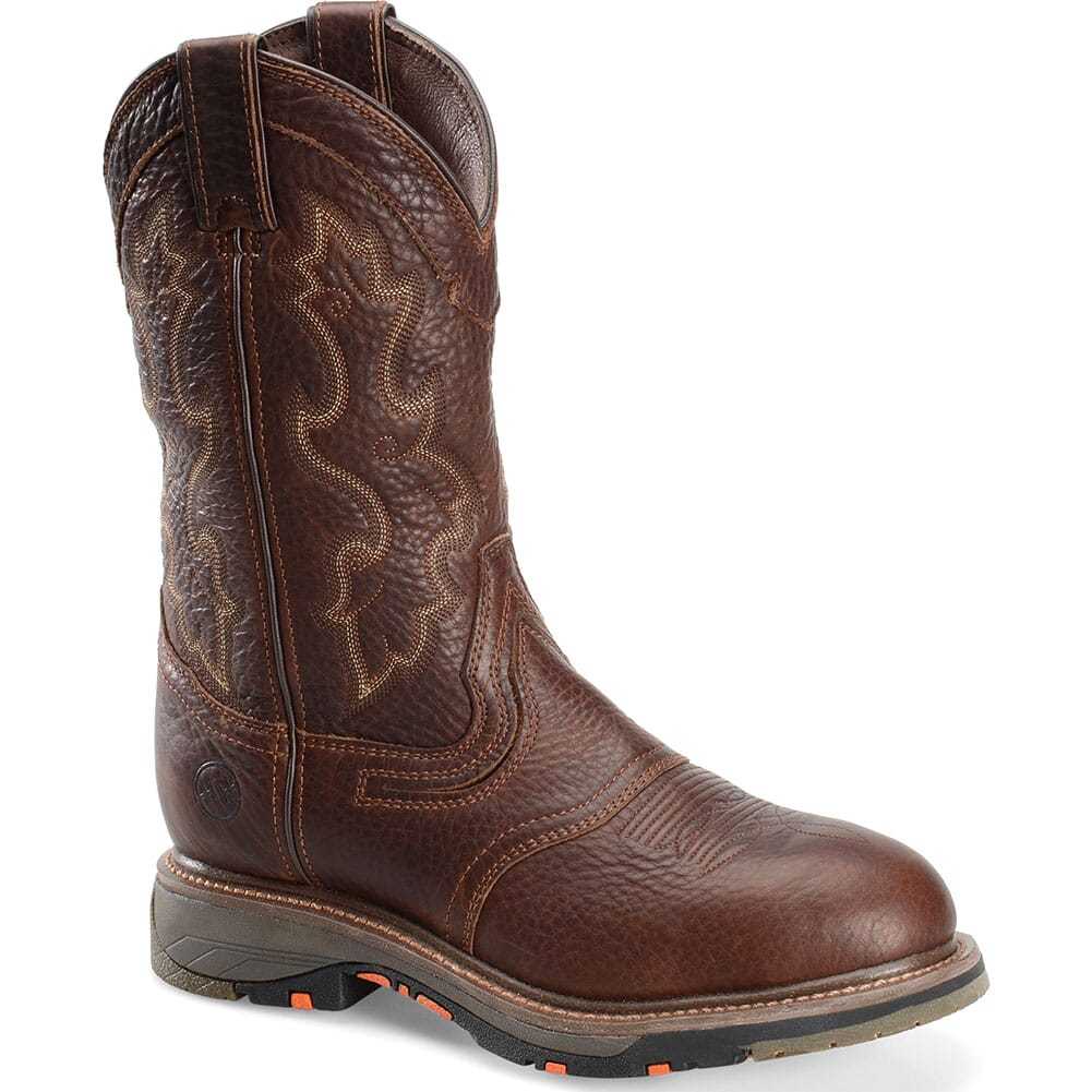 Image for Double H Men's Edgar EH Safety Boots - Tumbled Briar from bootbay