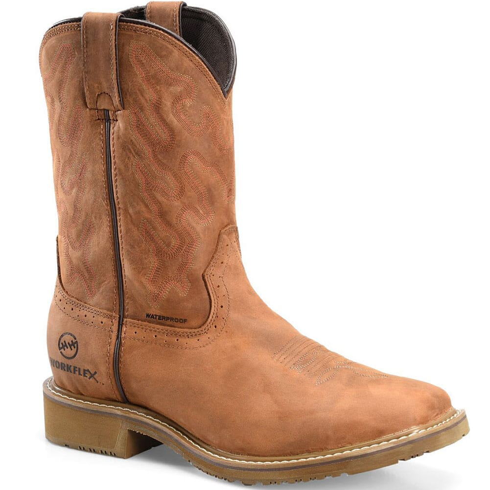 Image for Double H Men's Workflex Safety Ropers - Oakwood from bootbay