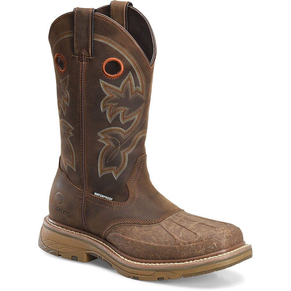 Image for Double H Men's Carlos Safety Boots - Brown from bootbay