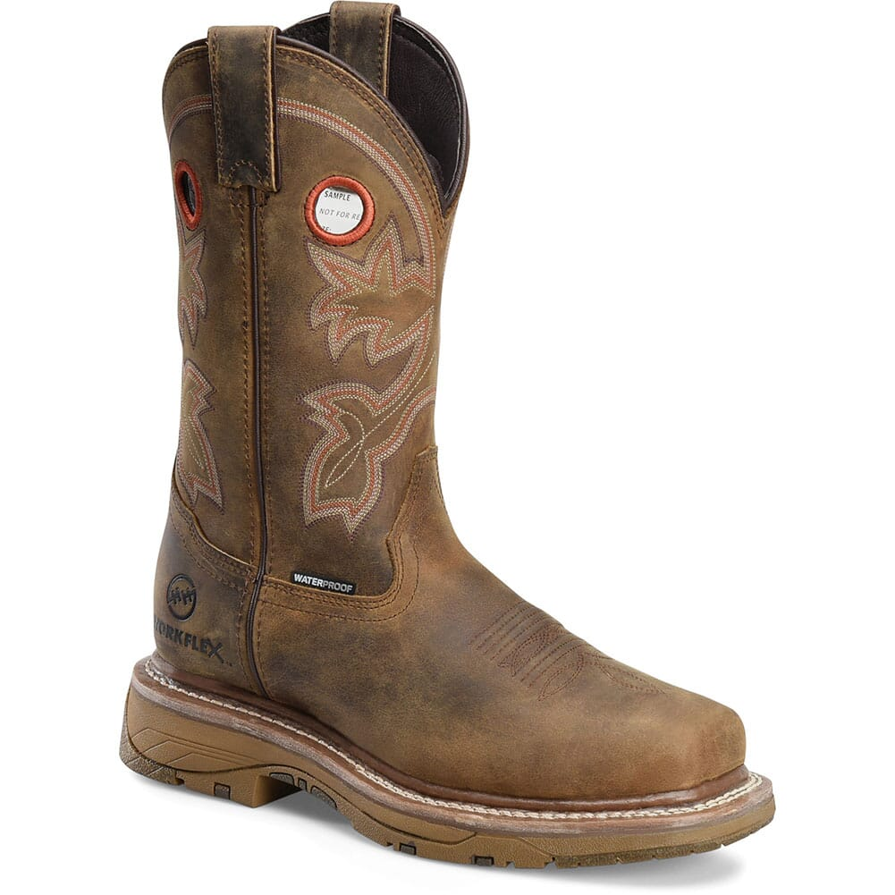 Image for Double H Women's Elexis Safety Boots - Brown from elliottsboots