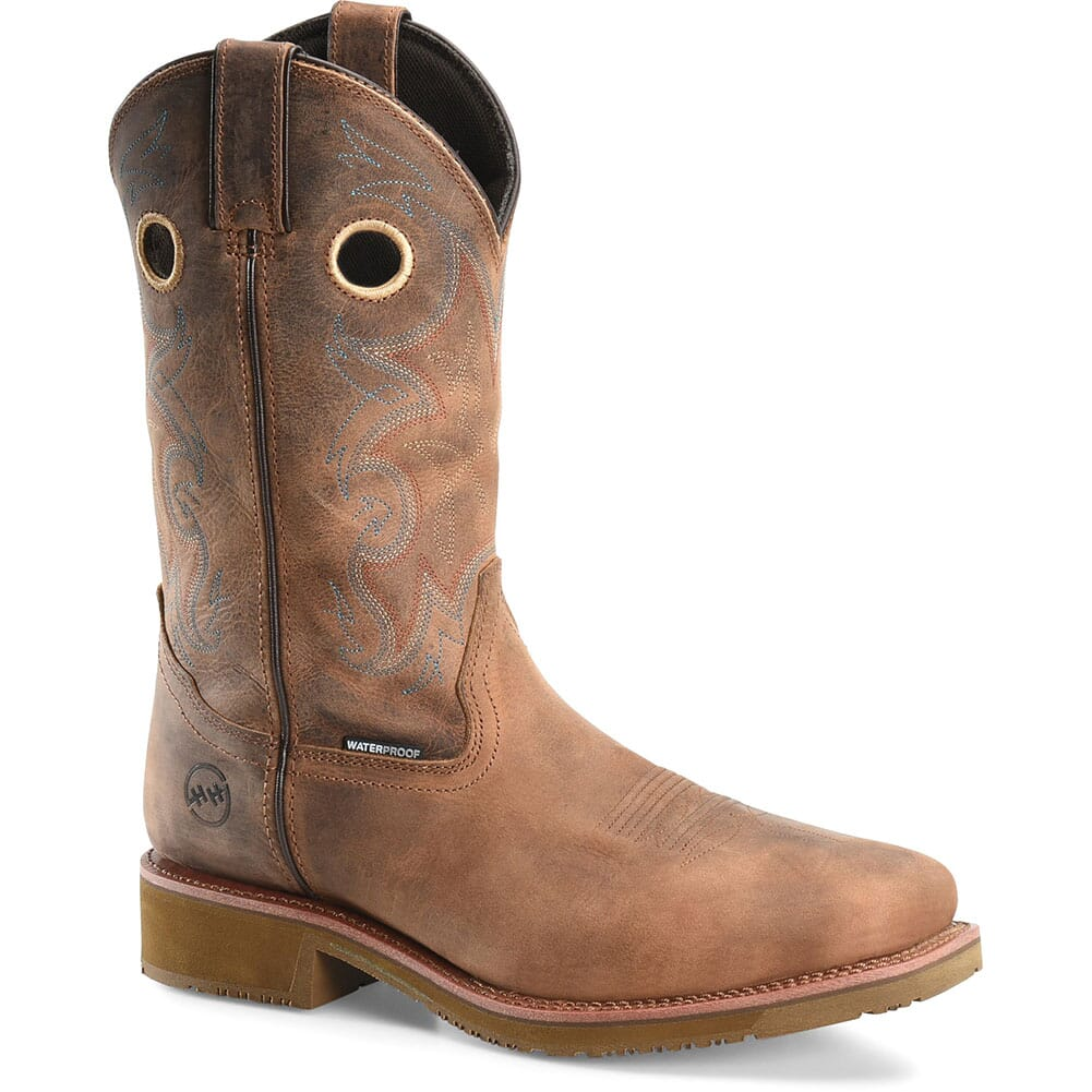 Image for Double H Men's Roy Safety Ropers - Tan from bootbay