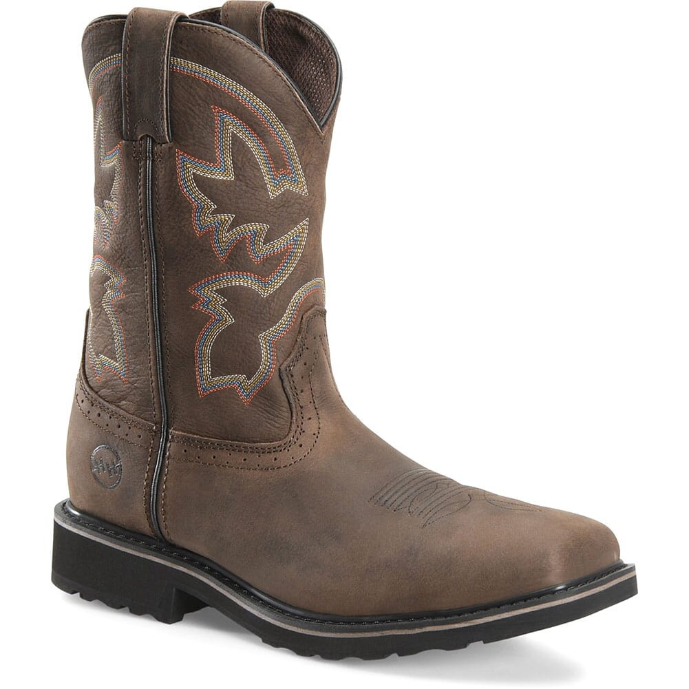Image for Double H Men's Nicholai Safety Ropers - Brown from bootbay