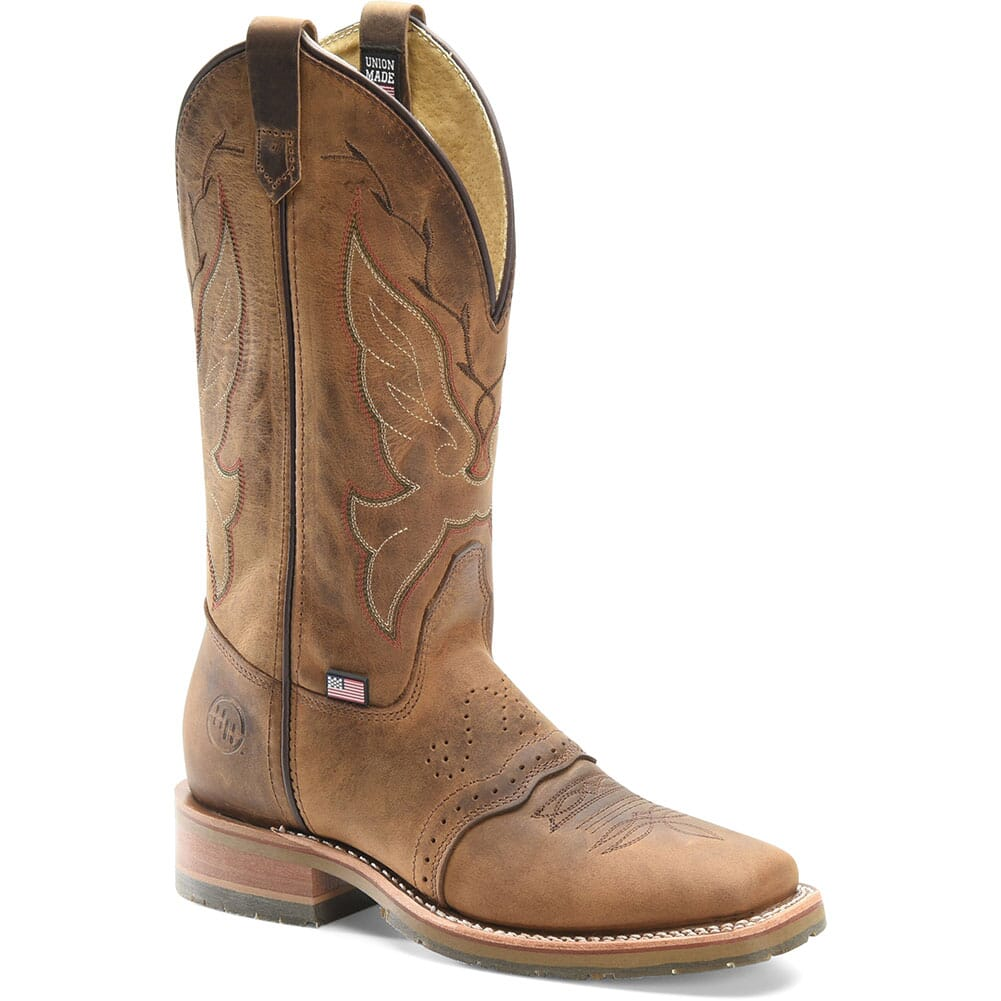 Image for Double H Women's Charity Western Boots - Brown from bootbay