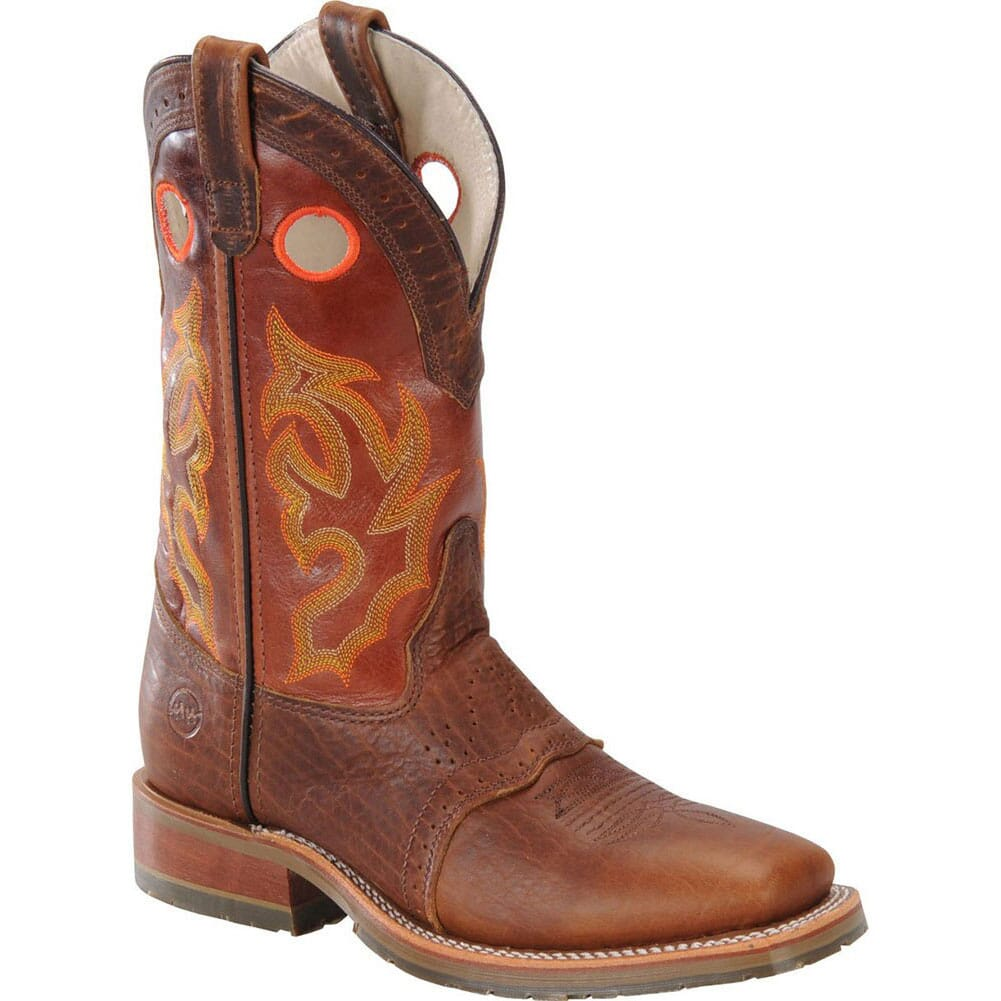 Image for Double H Men's WS ICE Safety Ropers - Brown from bootbay