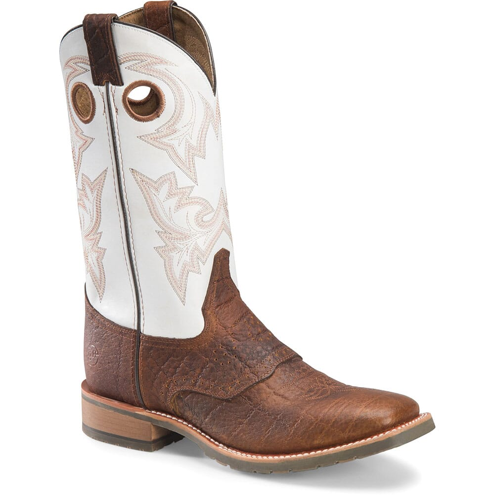 Image for Double H Men's Marty Western Boots - Cognac from bootbay