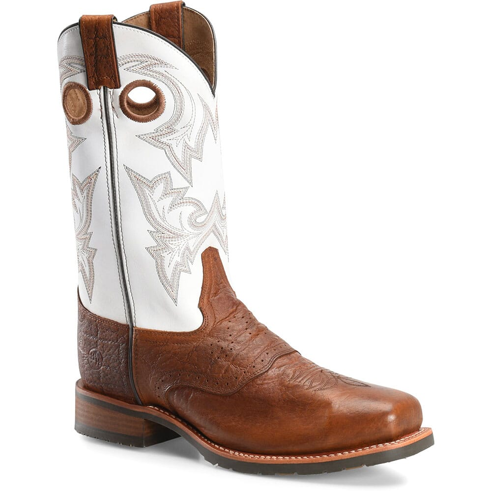 Image for Double H Men's Marty Safety Boots - White/Brown from bootbay