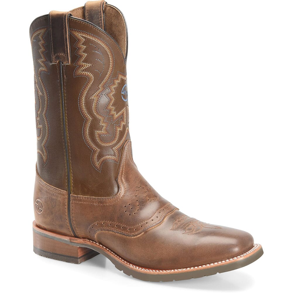 Image for Double H Men's Noah Western Ropers - Brown from bootbay