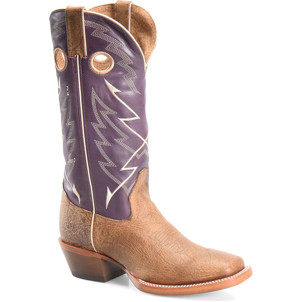 Image for Double H Men's Odell Western Buckaroo - Purple/Bison from bootbay