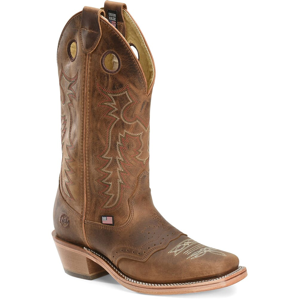 Image for Double H Men's Allen Western Boots - Brown from bootbay