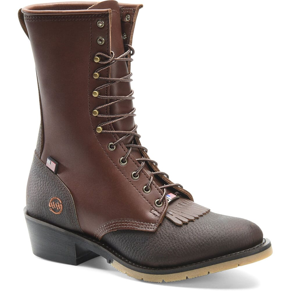 Image for Double H Men's ICE Work Packers - Brown from bootbay