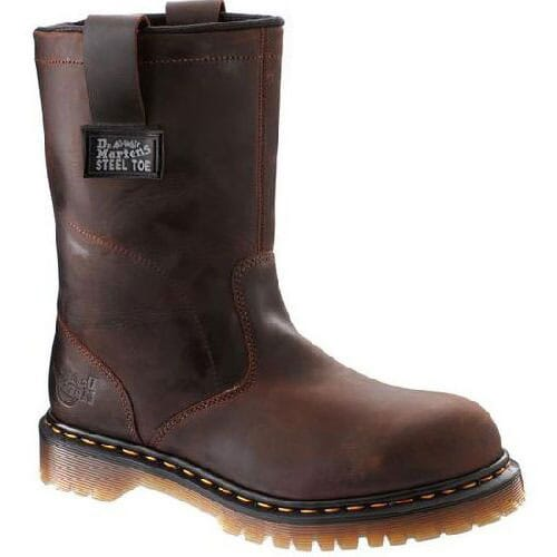Image for Dr. Martens Men's EH Steel Safety Boots - Gaucho from bootbay