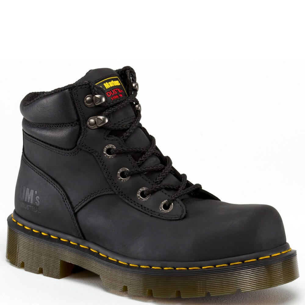 Image for Dr. Marten Unisex Burnham ST Safety Boots - Black from bootbay
