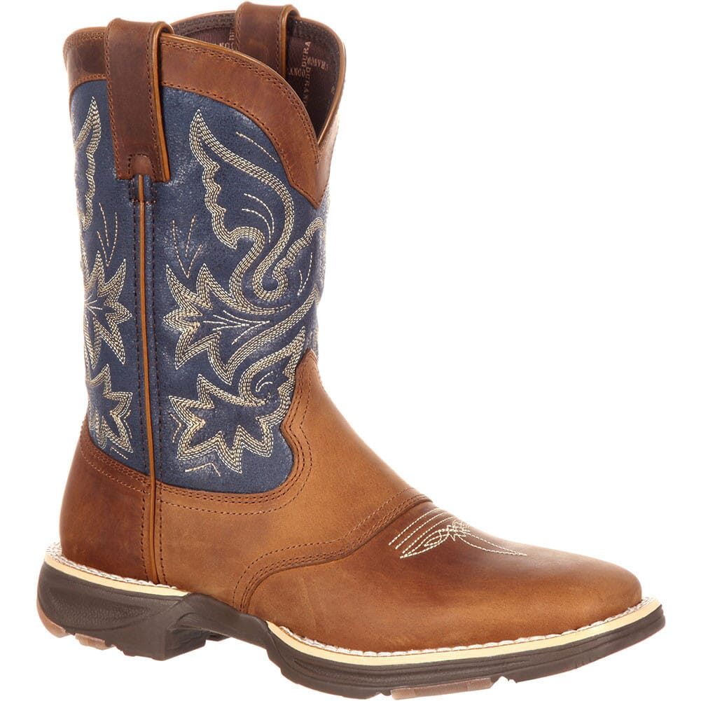 Image for Durango Women's Ultralite Western Boots - Tan Blue/Denim from bootbay