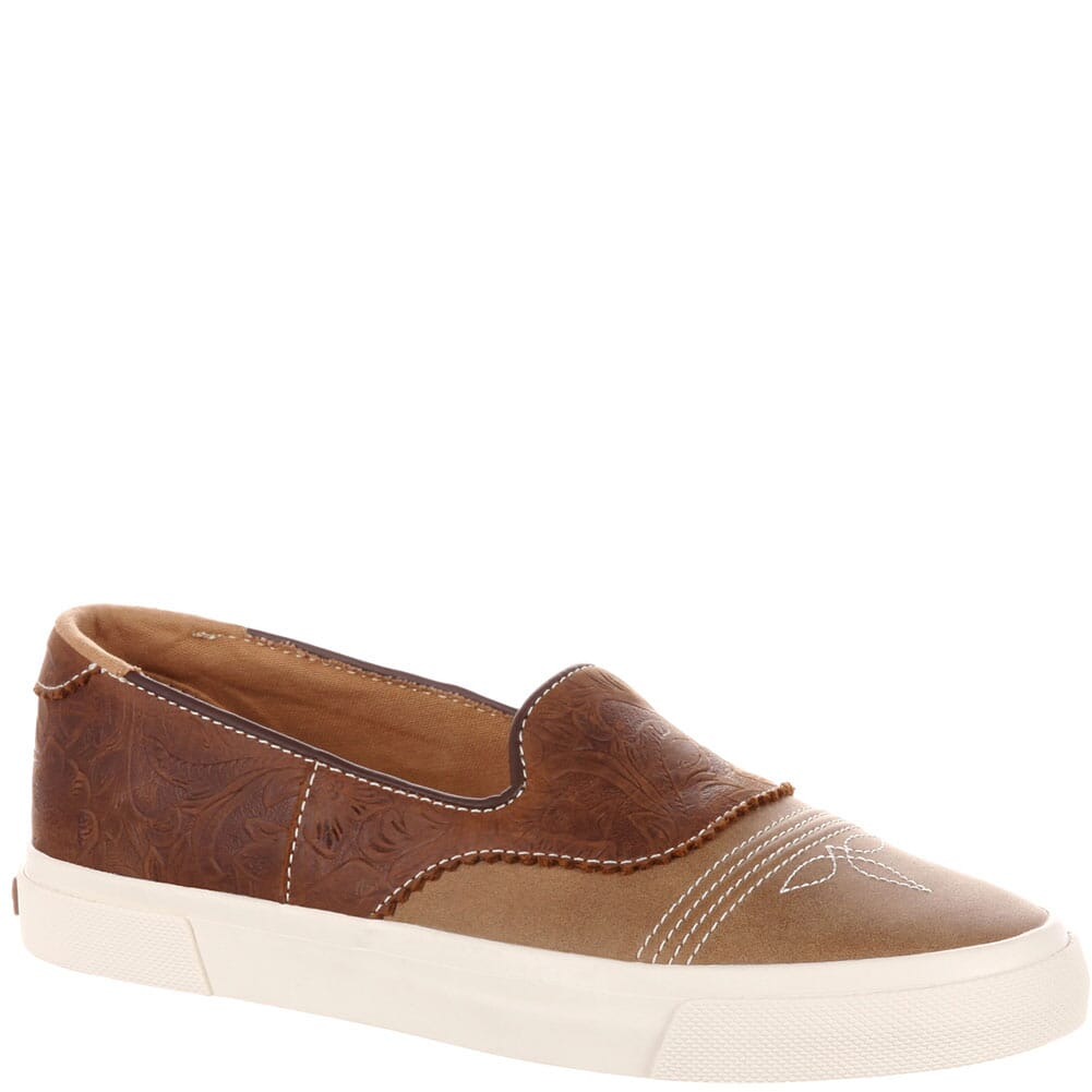 Image for Durango Music City Women's Slip-On Saddle Sneaker - Dusk To Dawn Tan from bootbay