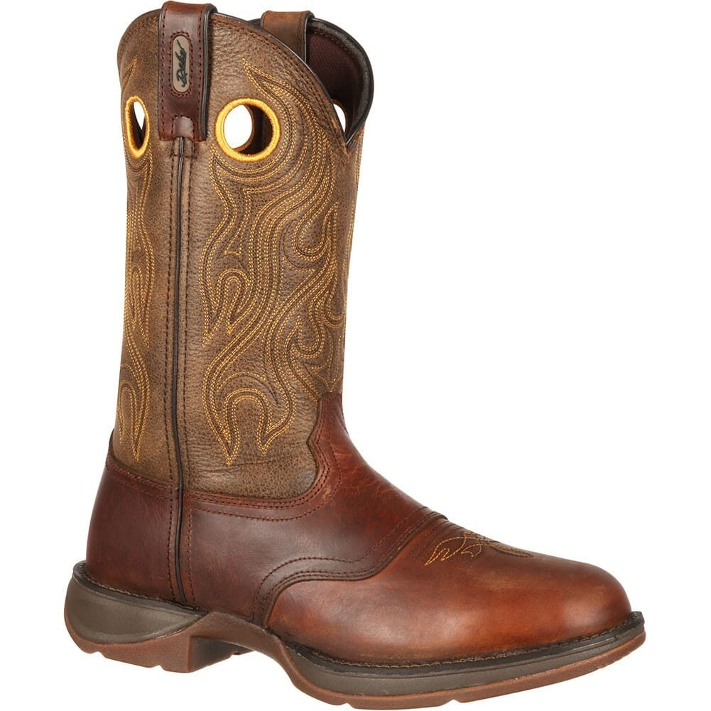 Image for Durango Men's Rebel Western Boots - Brown Saddle from bootbay