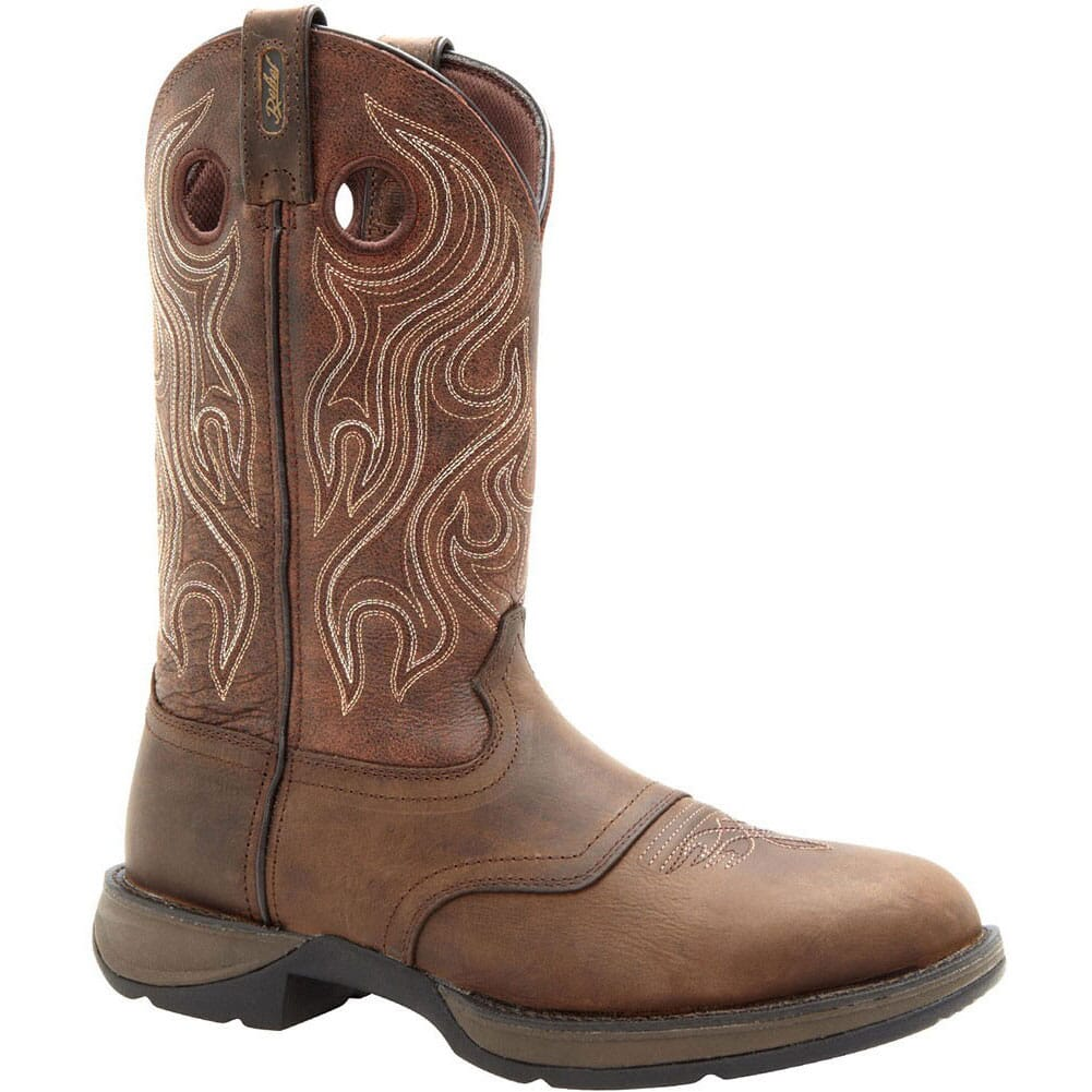 Image for Durango Men's Rebel Round Toe Western Boots - Brown from bootbay