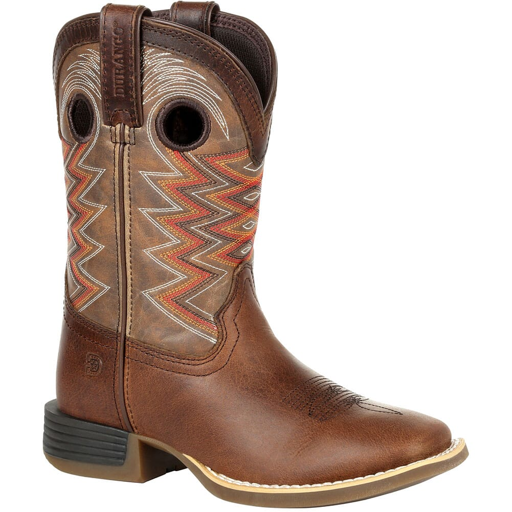 Image for Durango Lil' Rebel Pro Big Kid's Western Boots - Tigers Eye from bootbay