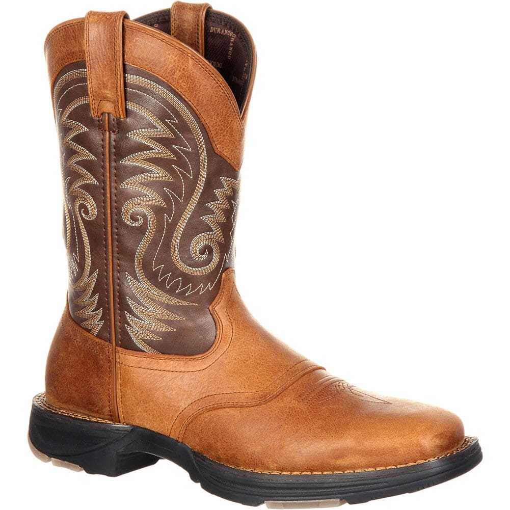 Image for Durango Men's Ultralite Western Boots - Saddle Brown from bootbay